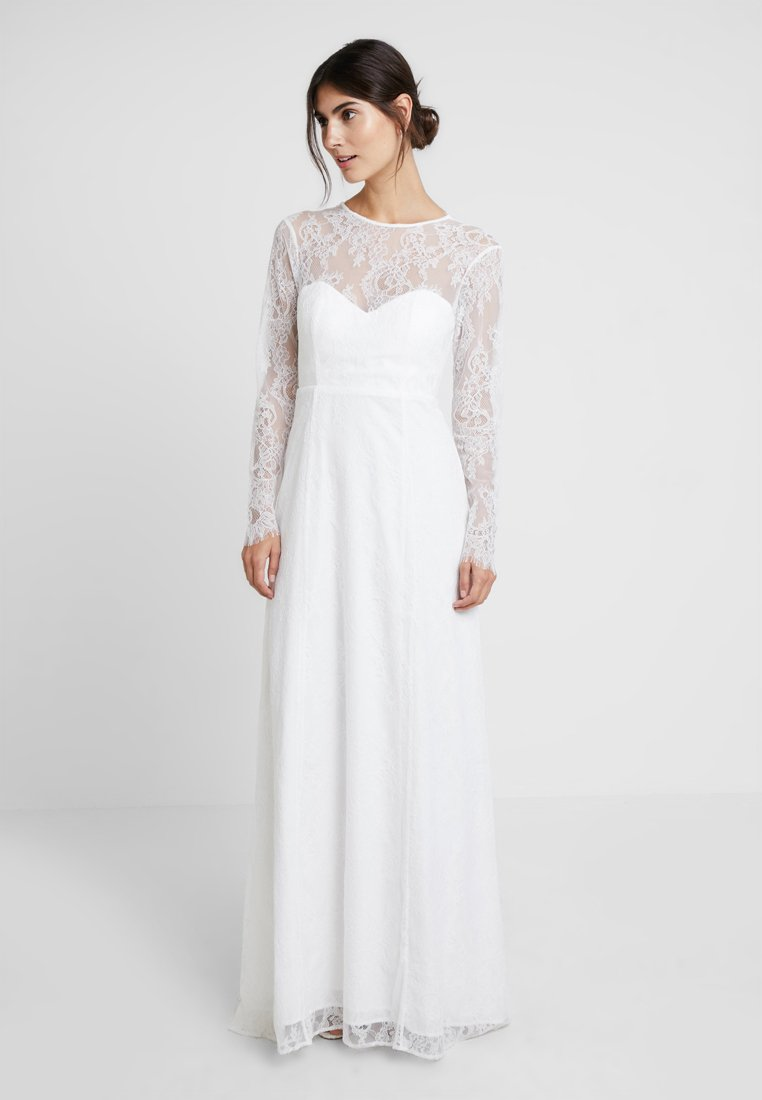IVY & OAK BRIDAL - OPEN BACK BRIDAL DRESS - Vestido de fiesta - snow white