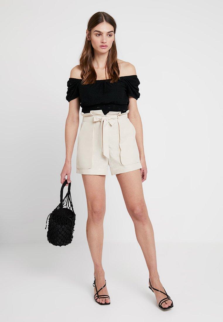 Monki - FERRY - Shorts - beige