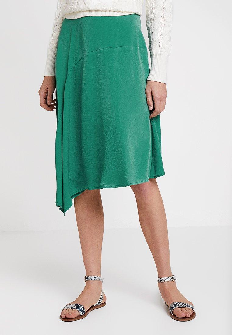 Cream - CARLIE SKIRT - A-line skirt - bottle green