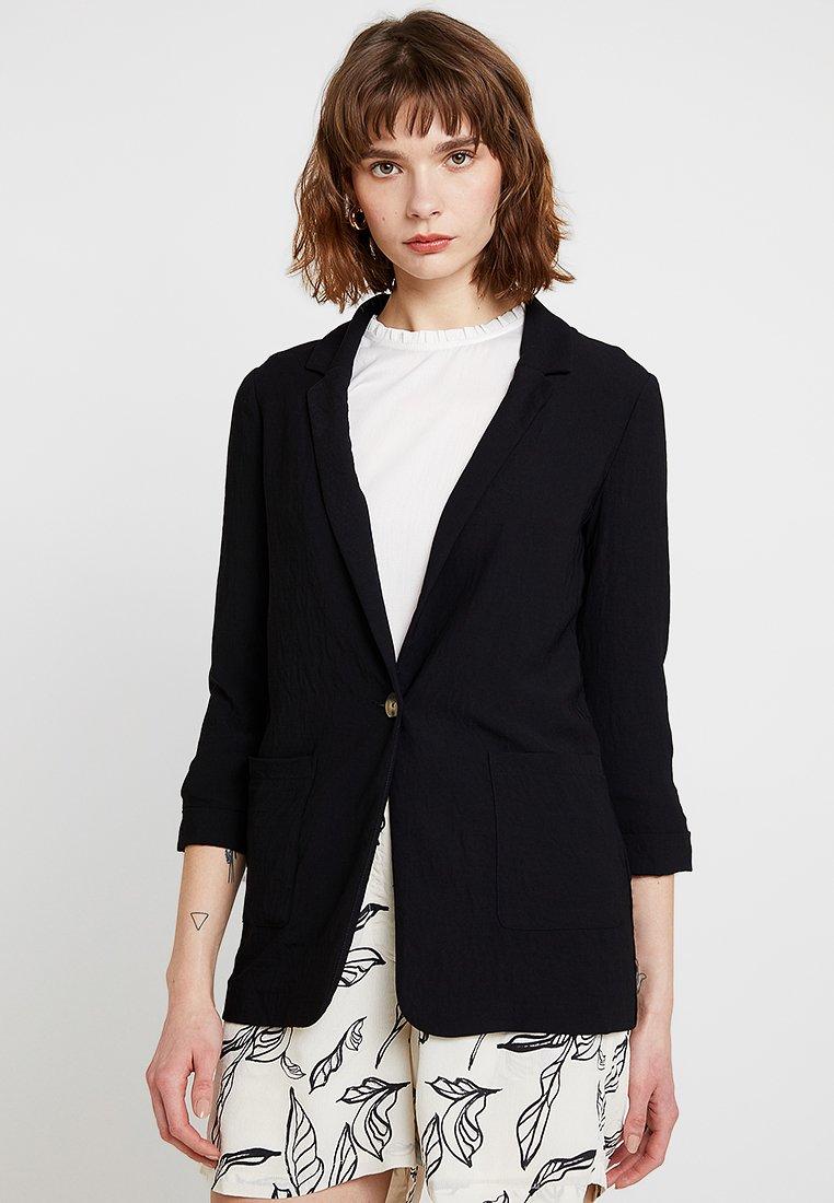 New Look - TAMSIN TEXTURE - Blazer - black