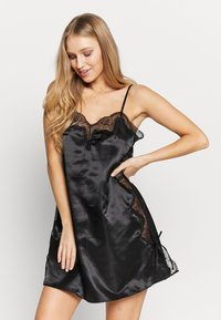 After Eden - SLIPDRESS - Chemise de nuit / Nuisette - black - 0