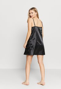After Eden - SLIPDRESS - Chemise de nuit / Nuisette - black - 2