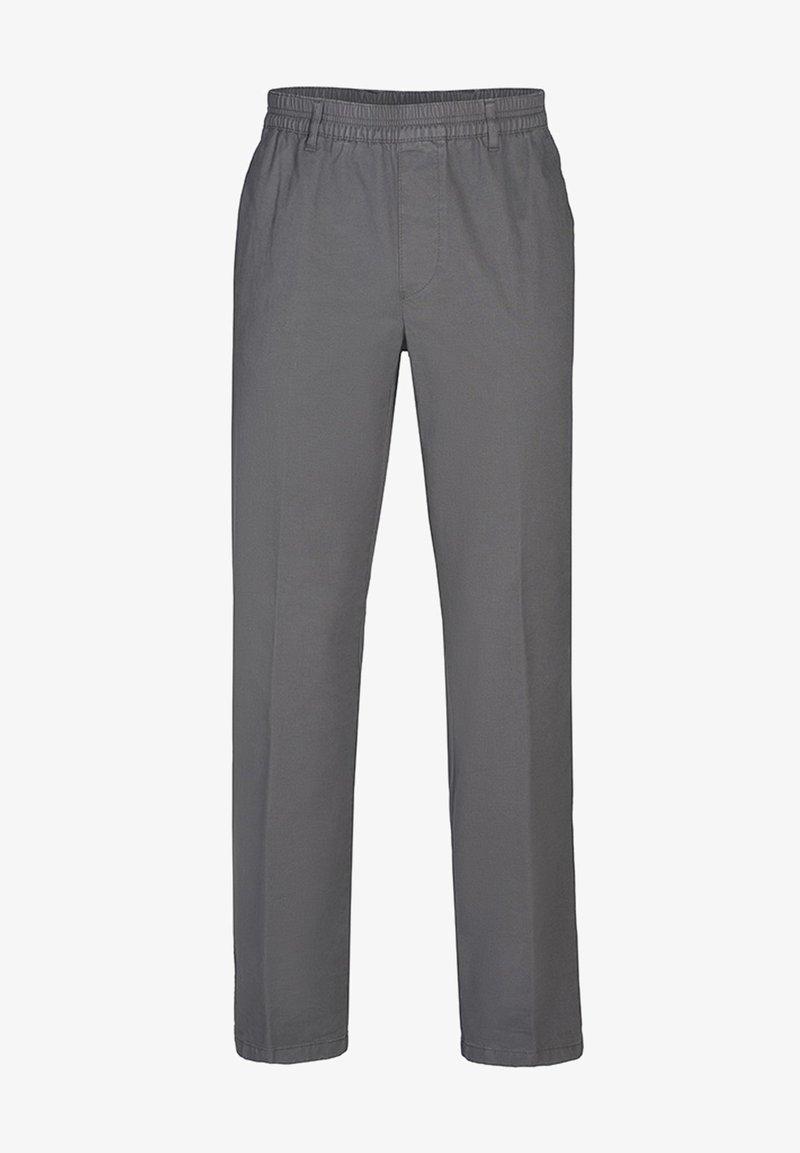 Brühl - MIT MICRO - Trousers - grey