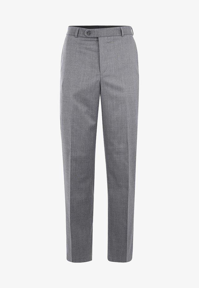 UDINE MIT KOMFORTBUND - Suit trousers - anthracite