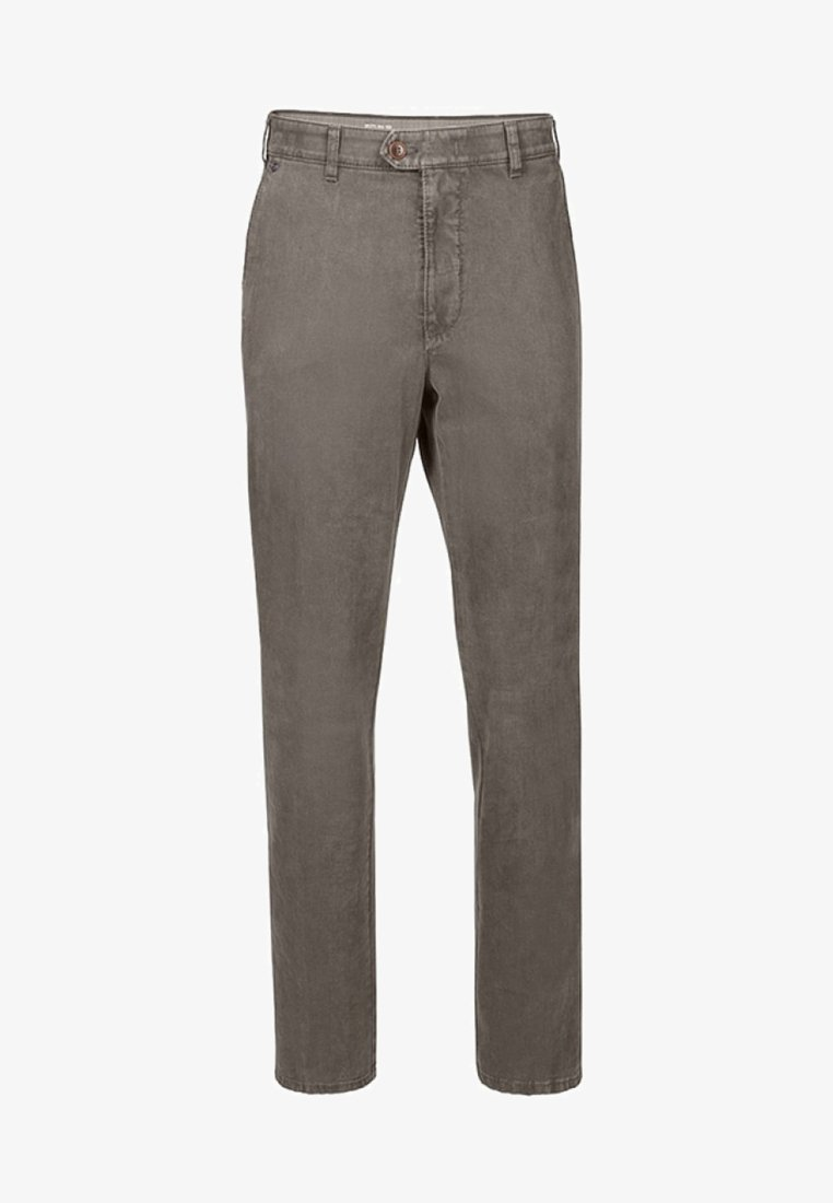 Brühl - MIT PRAKTISCHEM KOMFORTDEHNBUND - Trousers - grey