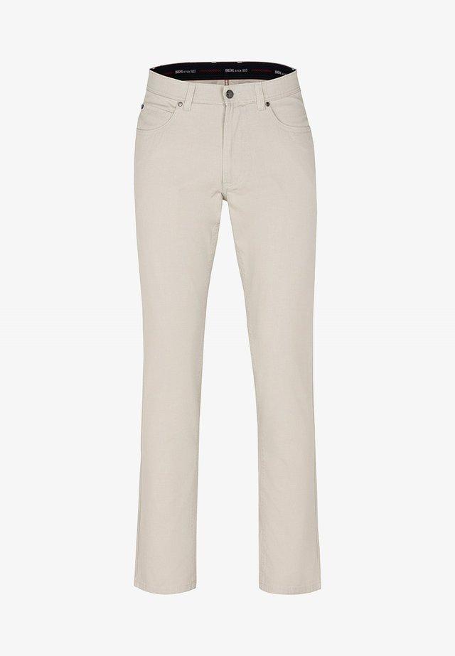YORK - Trousers - beige