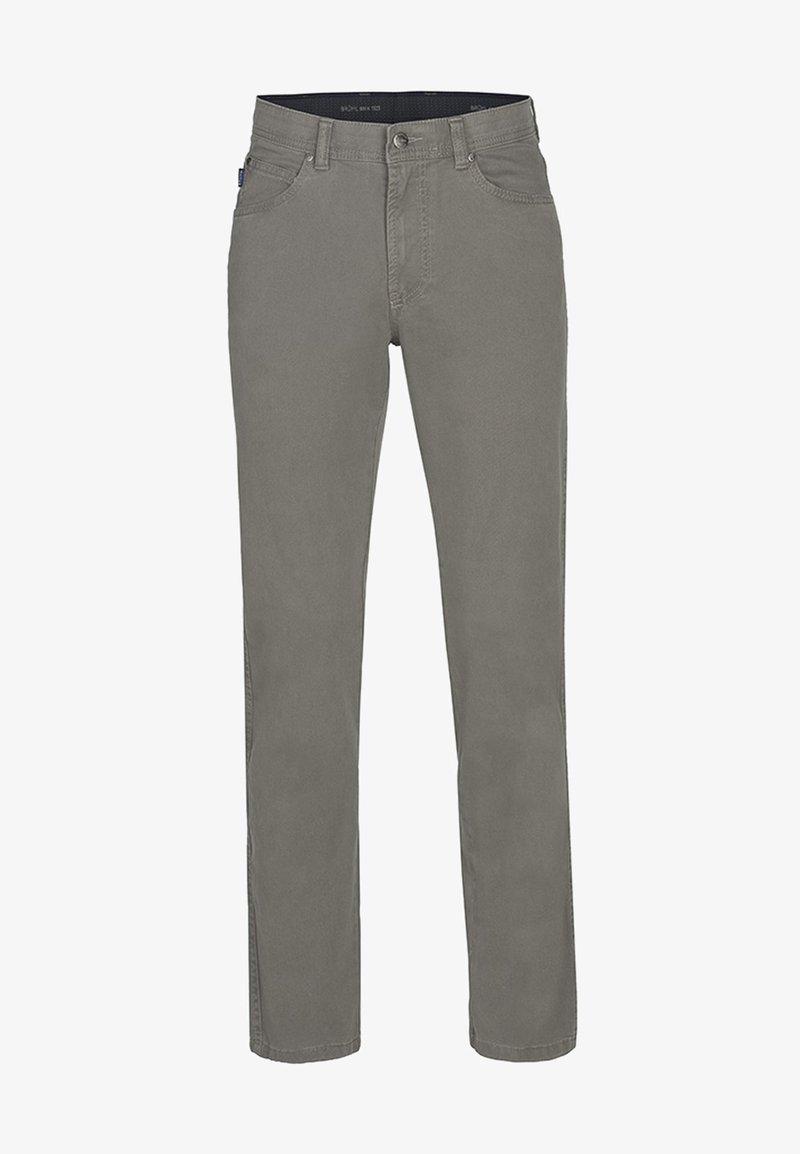 Brühl - MIT ANGENEHMER HAPTIK - Straight leg jeans - light grey