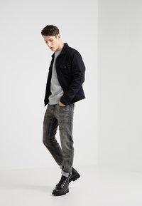 Diesel Black Gold - Slim fit jeans - mottled black - 1