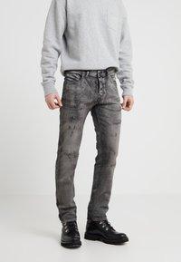 Diesel Black Gold - Slim fit jeans - mottled black - 0