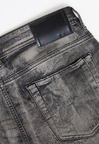Diesel Black Gold - Slim fit jeans - mottled black - 5
