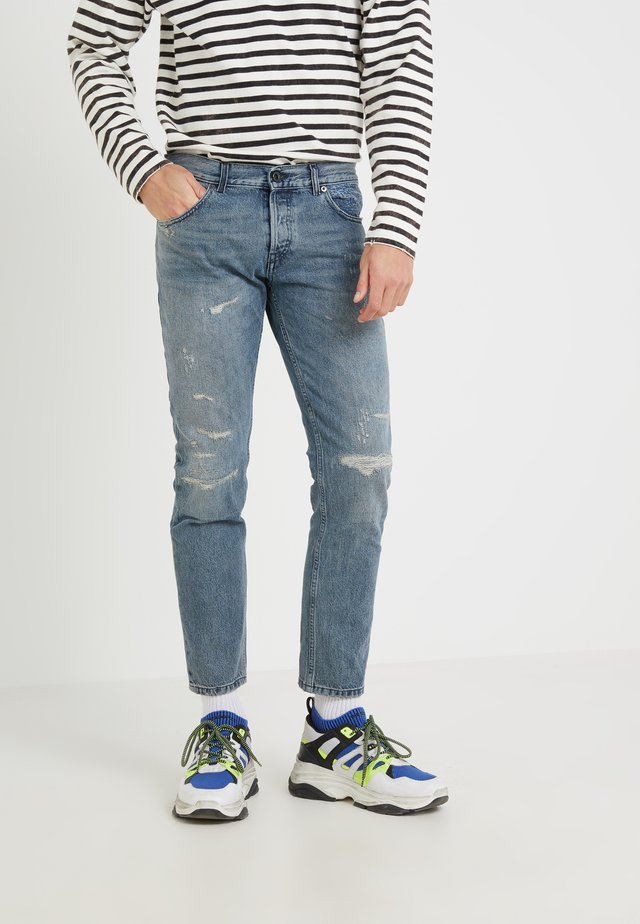 TYPE PANTALONI - Slim fit jeans - blue denim