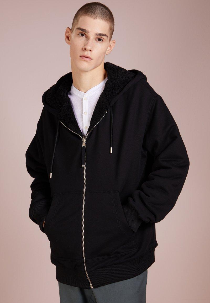 Diesel Black Gold - FLAMO - veste en sweat zippée - black