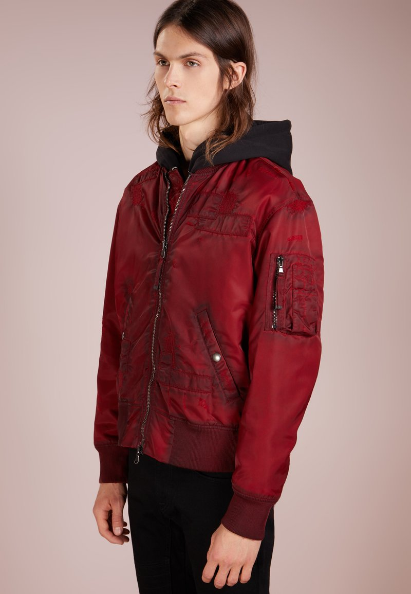 Diesel Black Gold - JINGOLL BUS OUTERWEAR CABAN - Blouson Bomber - red