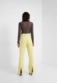 Hofmann Copenhagen - ELISA - Pantalon classique - lemon grass - 2
