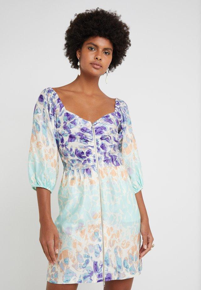 ALINA - Day dress - dahlia print