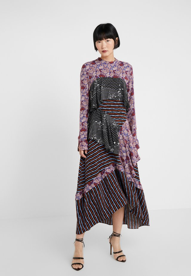 ALIX - Sukienka letnia - bordeaux