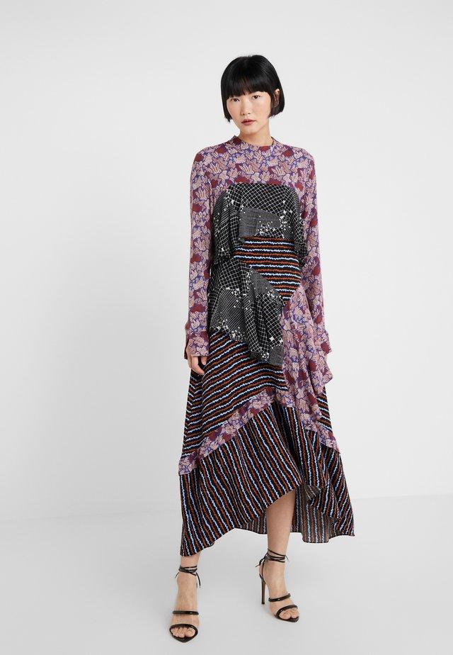 ALIX - Day dress - bordeaux