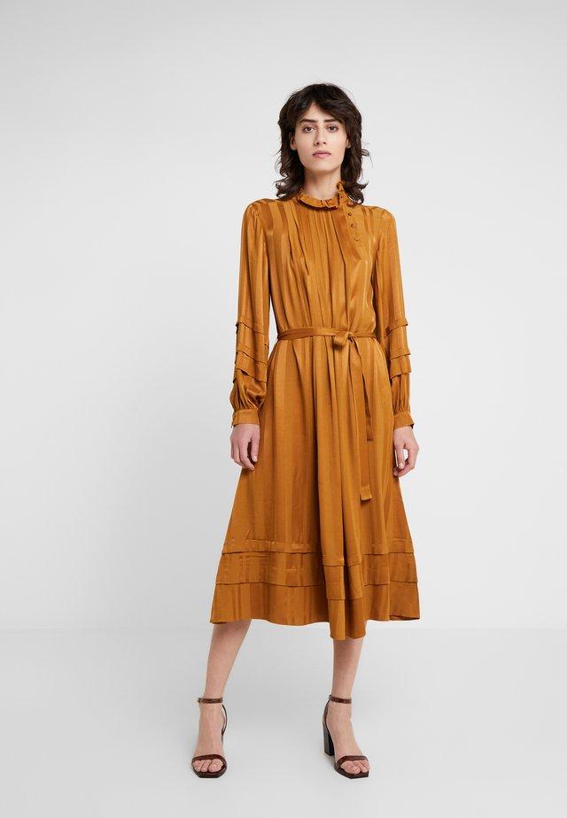 ADELE - Day dress - bronze