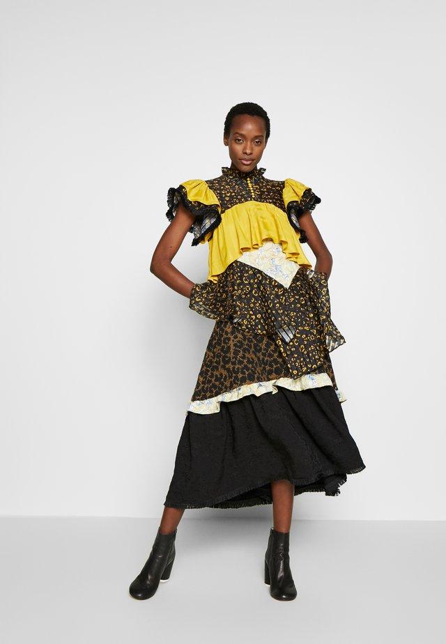 ALEXA - Skjortklänning - golden hour