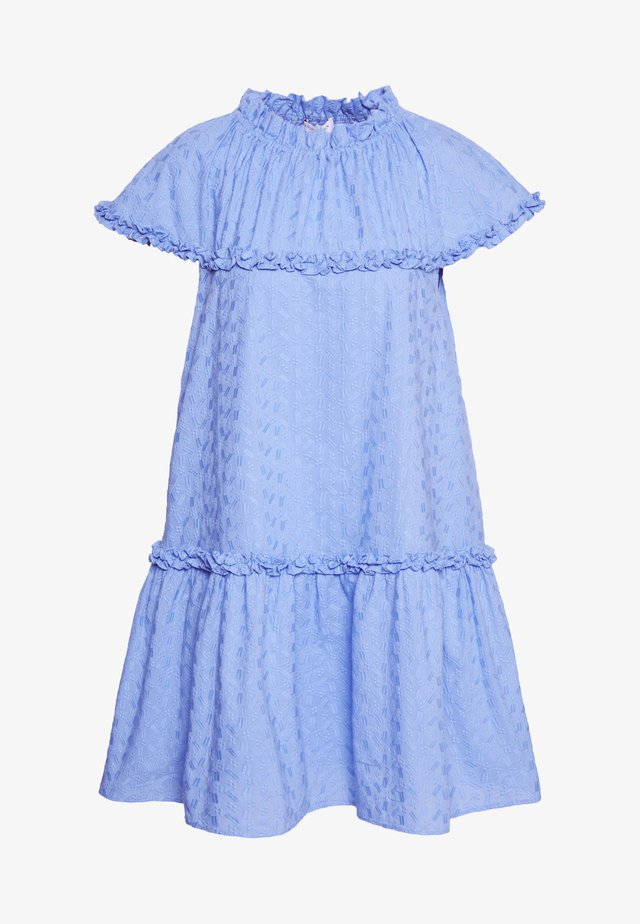 CORINNE - Day dress - pacific blue