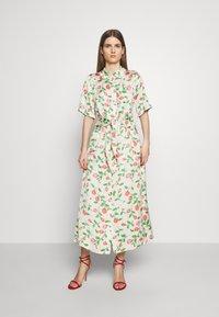 Hofmann Copenhagen - GABRIELLA - Shirt dress - creme - 0