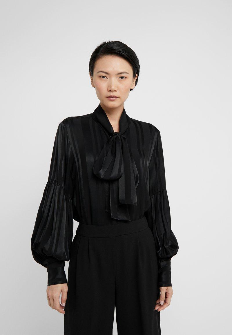 Hofmann Copenhagen - ISSA - Button-down blouse - black