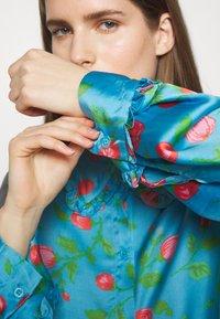 Hofmann Copenhagen - VIOLA - Košilové šaty - pacific blue - 5