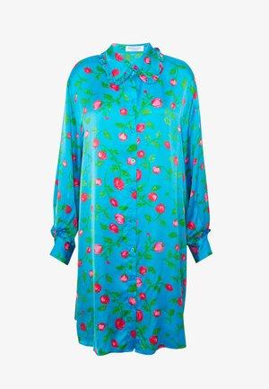 VIOLA - Vestido camisero - pacific blue