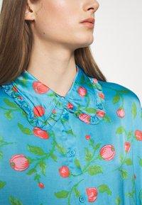 Hofmann Copenhagen - VIOLA - Košilové šaty - pacific blue - 7