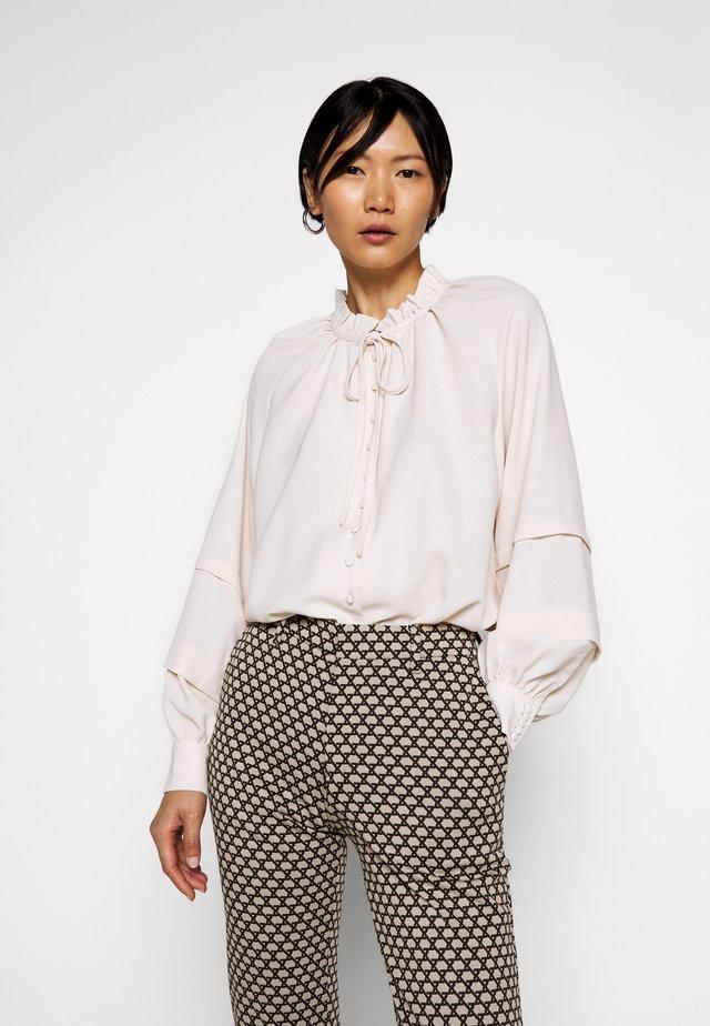ANINE - Button-down blouse - creme