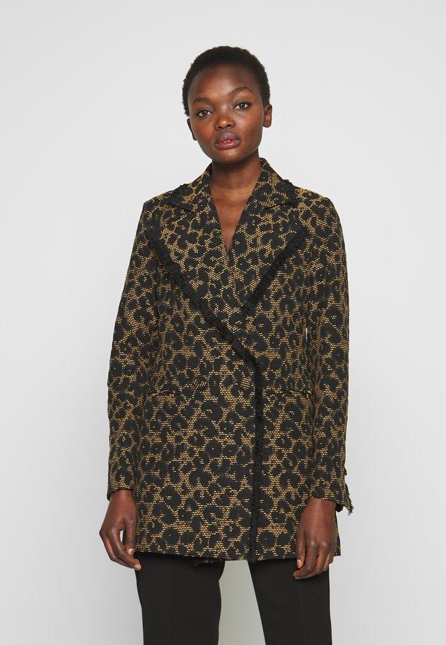 DORIA - Krátký kabát - black