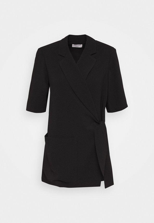 SYLVIA - Short coat - black
