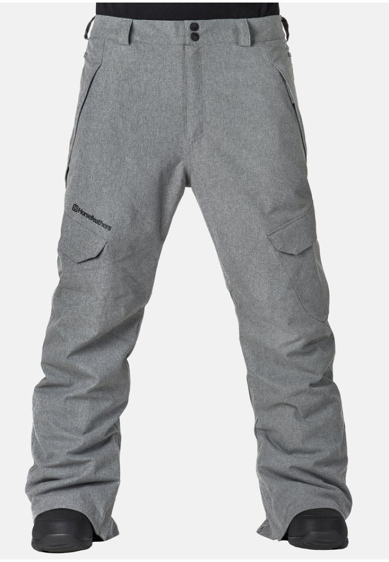Horsefeathers - VOYAGER - Snow pants - grey