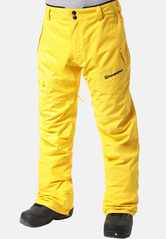 CHARGER - Snow pants - yellow