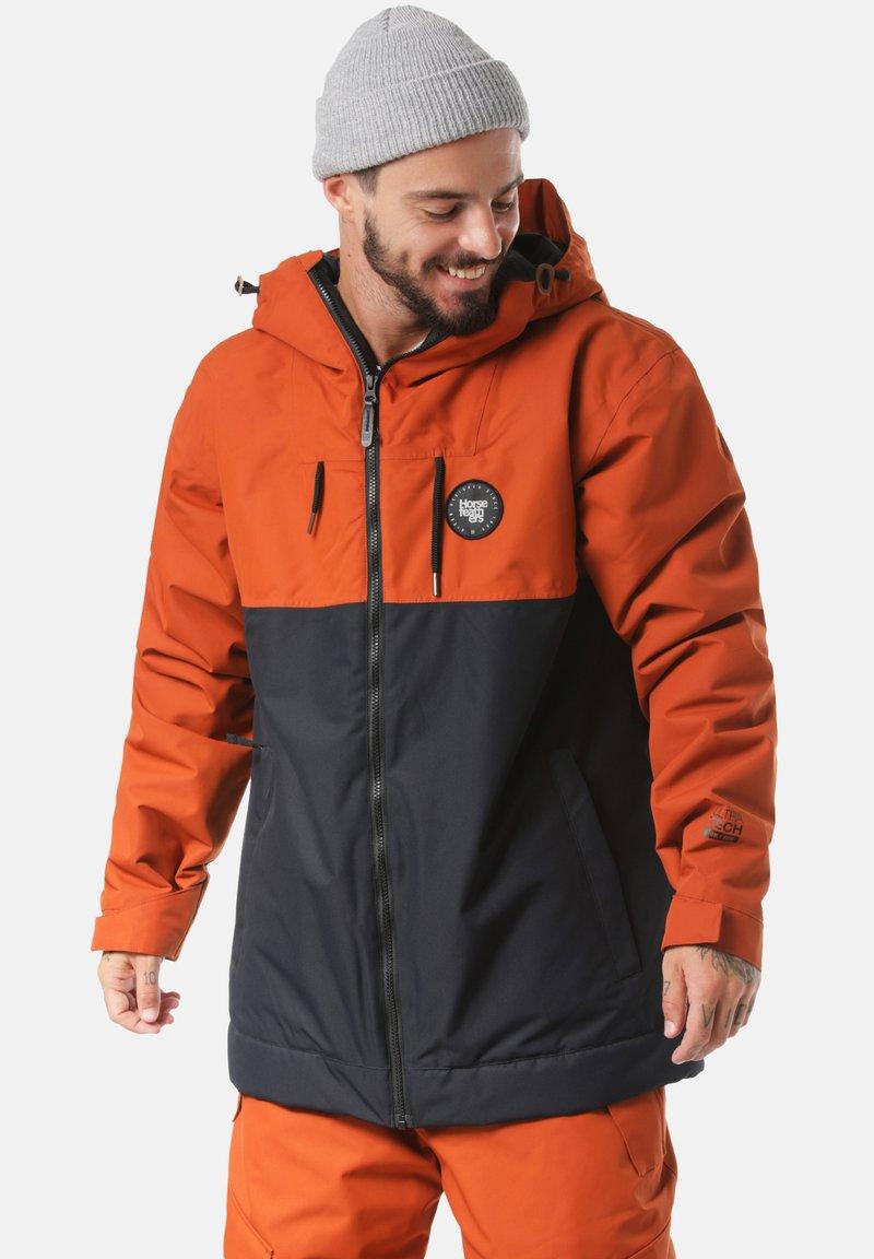 Horsefeathers - Snowboardjas - orange/dark blue