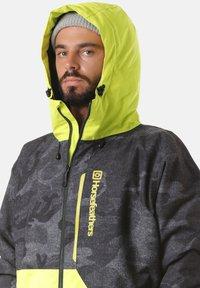 Horsefeathers - Snowboardjas - grey/yellow - 2