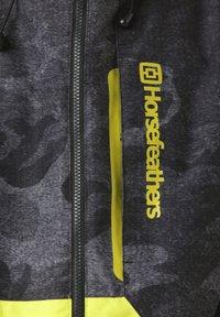 Horsefeathers - Snowboardjas - grey/yellow - 4