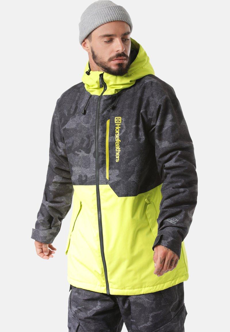 Horsefeathers - Snowboardjas - grey/yellow