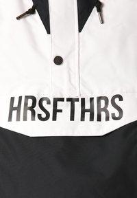 Horsefeathers - Snowboard jacket - black/white - 4