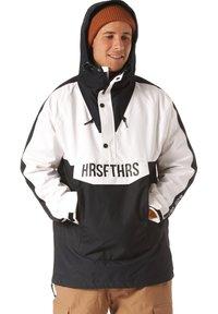Horsefeathers - Snowboard jacket - black/white - 3