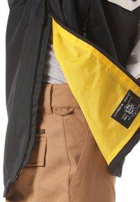 Horsefeathers - Snowboard jacket - black/white - 5