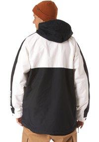 Horsefeathers - Snowboard jacket - black/white - 2