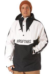 Horsefeathers - Snowboard jacket - black/white - 0