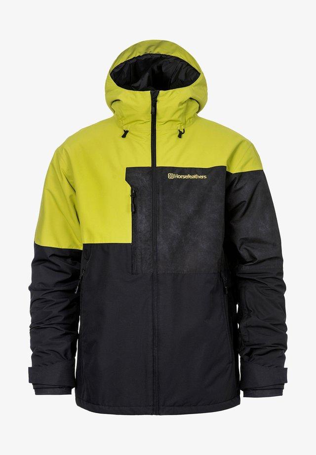 Snowboard jacket - yellow/black
