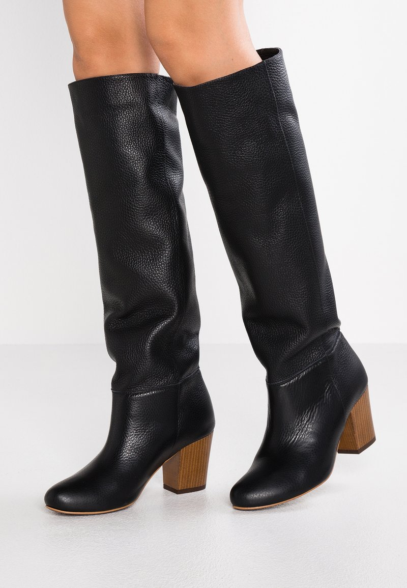 L37 - SUPER NOVA - Høje støvler/ Støvler - black