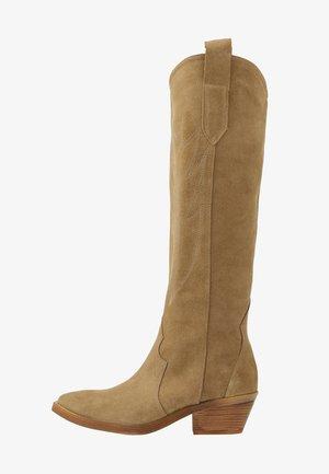 LET'S GET LOST - Cowboystøvler - tan
