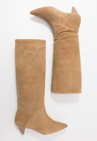 L37 - OPEN MIND HIGH - Boots - beige - 3