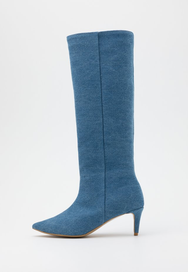 ALL I NEED - Boots - blue denim