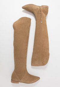 L37 - NEW LOOK - Over-the-knee boots - beige - 3