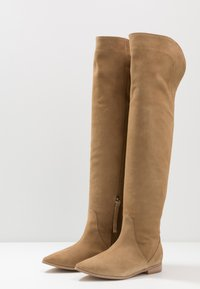L37 - NEW LOOK - Over-the-knee boots - beige - 4